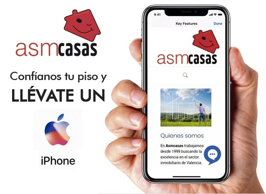 confianos tu piso y llevate un iphone